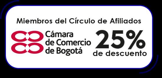 25% dcto. para Círculo de Afiliados CCB