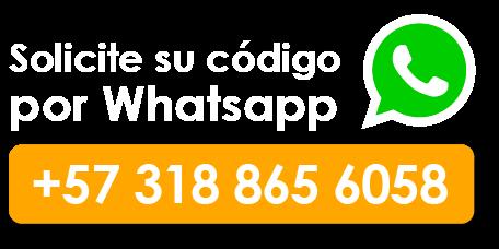 Solicite su código por WhatsApp: +573188656058