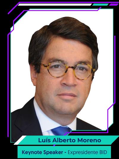 Luis Alberto Moreno - Conferencista Central
